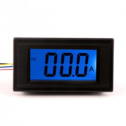 Digital Ammeter Gauge DC 0-50A amp Ampere Meter Current Panel Meter LCD Monitor