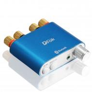 100W Bluetooth 4.0 Audio Amplifier 50W × 2 Audio Receiver HiFi 2 channel Digital Amplifier + EU Plug Power Supply + Signal Cable