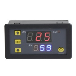 1500W  DC 5V Digital Timer Relay Switch Board with Dual Display for timing, delaying, cycle timing, intermittent timing, etc