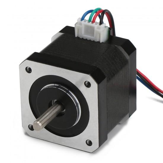 High Torque Bipolar Stepper Motor 42 Stepper Motor 2-Phrase Universal DC Motor for 3D printer/laser engraving/Stage lighting etc