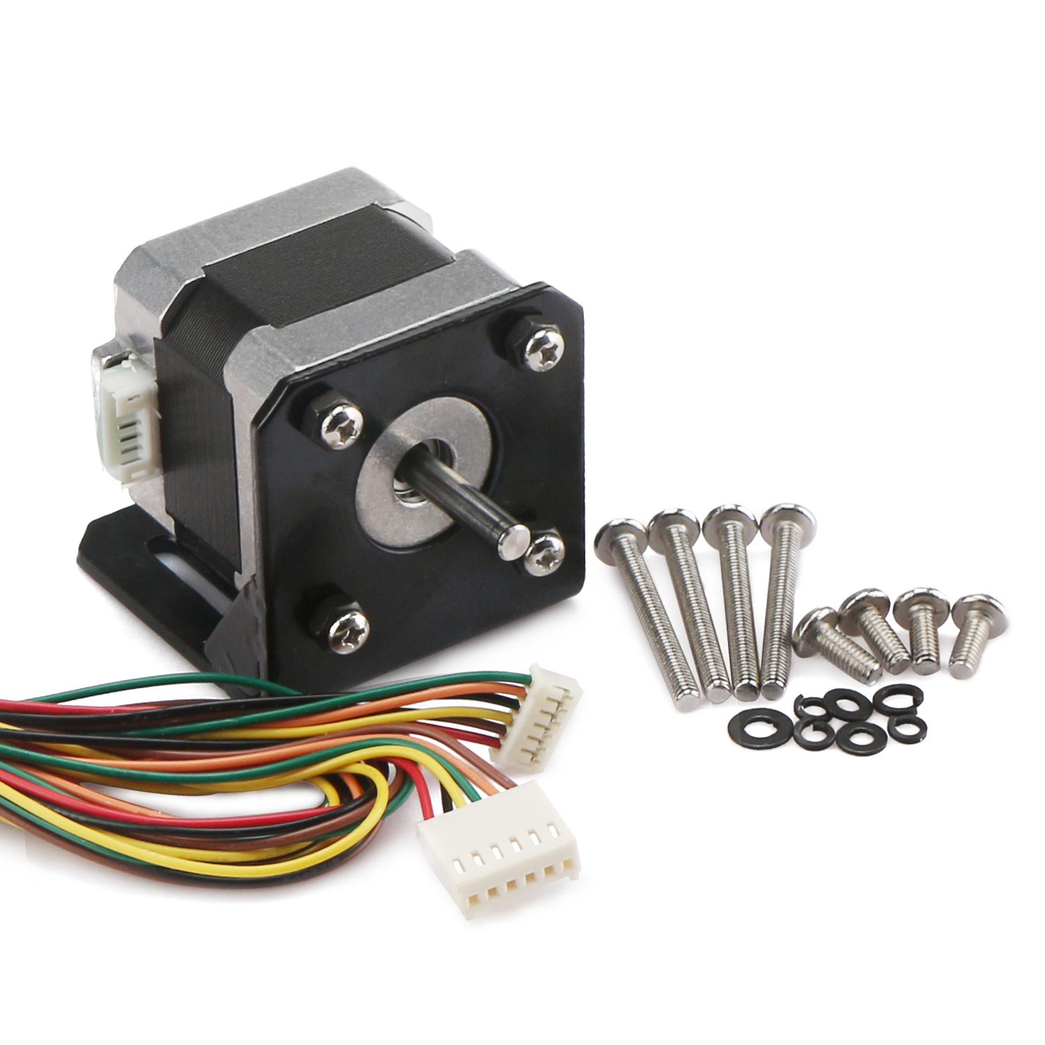Stepper Motor 2 Phrase 42 Hybrid Dc 10 36v Mini 4 Wire Wiring Harness Kit For