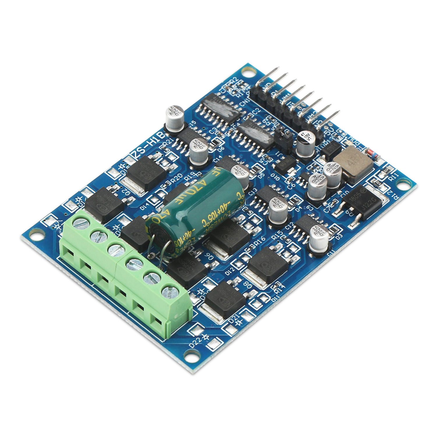 DC Brush Motor Controller, 16A Power Supply Module Dual way motor