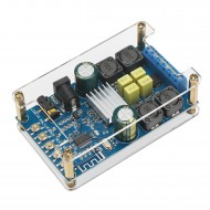 Bluetooth Digital Amplifier Module, Amplifier 50W*2 Dual Channel Audio Amplifier DC 4.5~27V Amplifier Board with Protective Shell