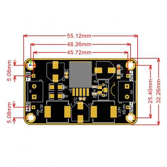 LM2596 Immersion Gold Power Supply Module DC 3V~40V to 1.23~37V 3A Regulator DC 12V 24V Adapter/Switching Power Supply