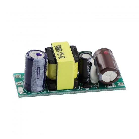 5pcs/set AC Power Supply Module AC 90~240V to DC 12V 400mA Buck Voltage Regulator Switching Adapter Driver Board