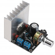 Digital Audio Power Amplifier, Micro TDA7377 DC12V 35W+35W 2.0 Dual-channel Stereo Amp Board Amplify Module
