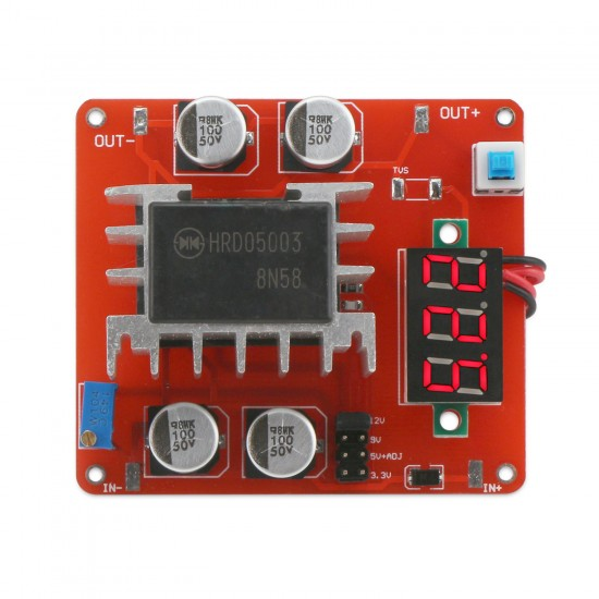 Adjustable DC Power Supply Module DC 8.0~48V to 3.3~24V 3A 36W Voltage Regulator Power Converter