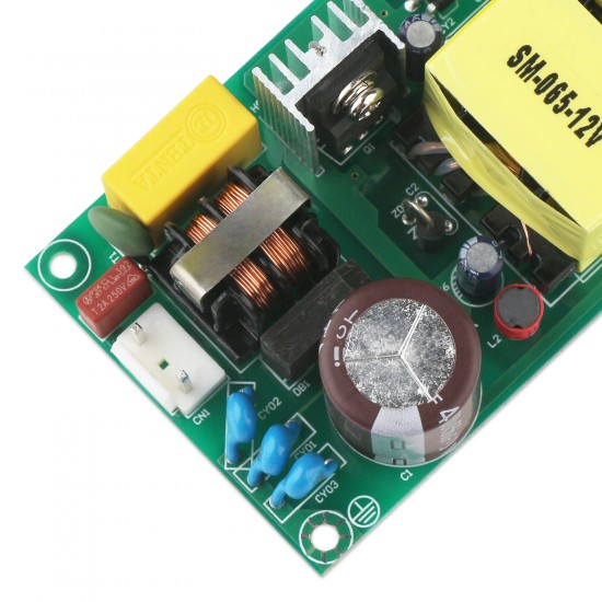 40W Switching Power Supply, AC 85~264V DC 110~370V to DC 24V 1.7A Power Converter DC 24V Adapter/Regulator/Driver