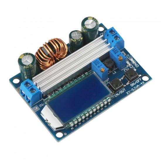 Auto Boost Buck Converter, 35W Power Supply Module/Adapter DC 5.5~30V to 0.5~30V 3A Boost Buck Converter/Adjustable Regulator DC 5V 12V 24V Charger/Driver