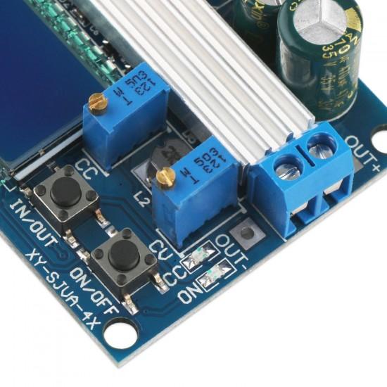 DROK Buck-Boost Board DC 5.5-30V 12v to DC 0.5-30V 5v 24v Adjustable Constant Current Voltage Step UP Down Voltage Regulator 3A 35W Power Supply Module Buck Boost Converter Display
