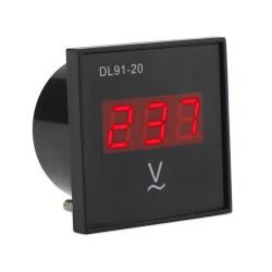 Digital Voltmeter Panel Meter, Digital Meter AC 80~300V Voltmeter Red Led Display Voltage Meter AC 110V 220V Volt Meter/Panel Meter_Red