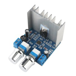 15W Power Supply Module, AC/DC 5~16V to DC 0~15V 1A CC-CV Linear Regulator Power Supply/Adjustable Converter/Adapter with Dual Potentiometer