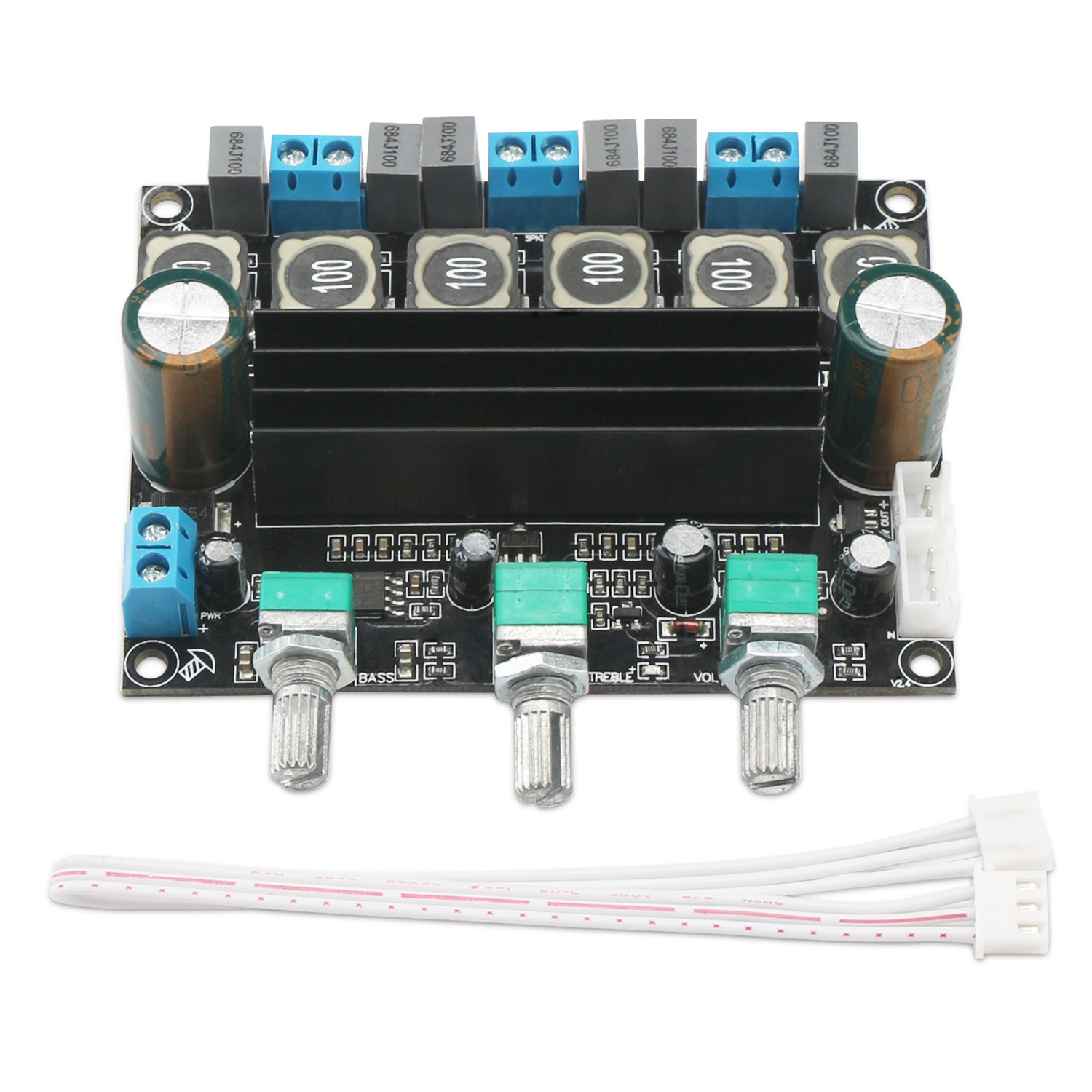 Tpa3116d2 Subwoofer Amplifier Board Dc1025v Stereo Audio 21 Channel Super Bass Finished