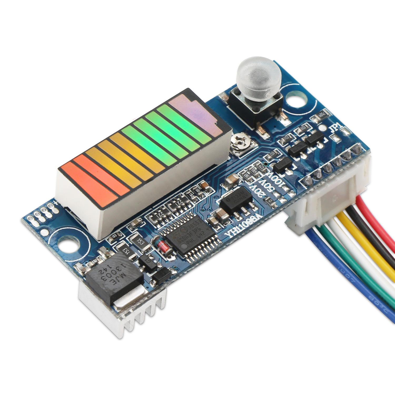 Intelligent Battery Charge Discharge Control Capacity Indicator 12v Lead Acid Digital Meter Dc 8100v Tester