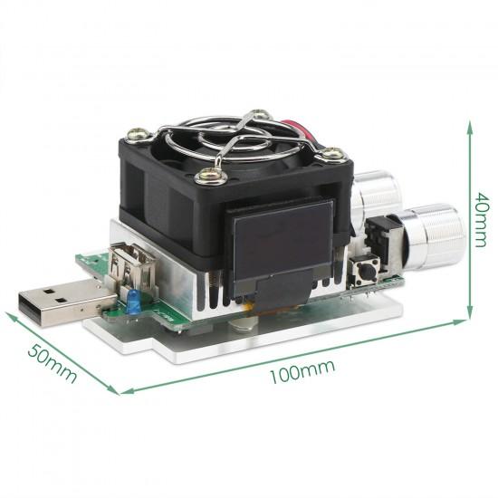 USB Intelligent Discharge Resistance/USB Doctor DC3~21V/3A 35W USB Adjustable Constant Current Electronic Load/USB Tester/Multifunction Digital Meter