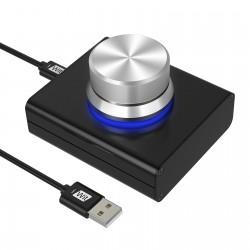 USB Controller USB Volume/Audio Adjuster PC Speakers Switch Control Module for Adjusting Volume of Computer/Laptop