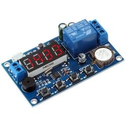 Time Relay Module 5.0V~60V Real Timer Relay Control Switch 24 Hour Timing Control Clock Synchronization Time Control Delay Module