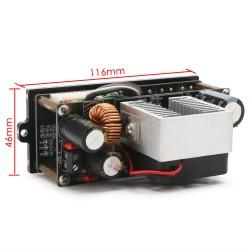 DC Buck Regulator DC 60v 48v 24v 12v 9v to 5v Constant Voltage Constant Current Power Supply Converter Board with Cooling Fan and LCD Display