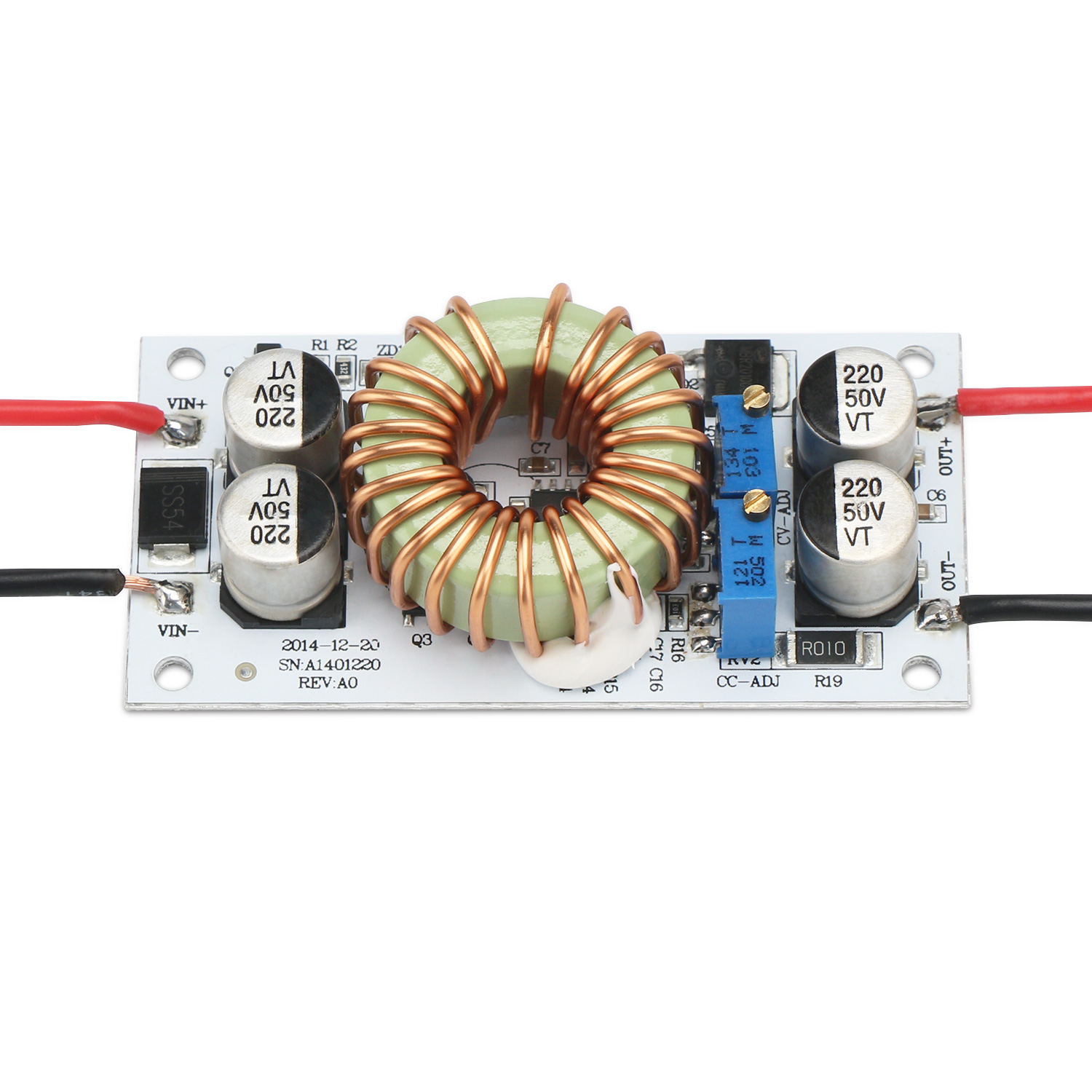 DC Boost Converter, Power Supply Module/Adjustable Regulator DC 10V