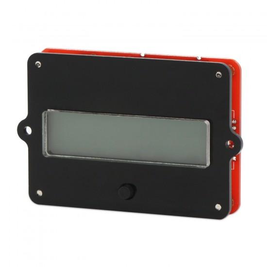Battery Monitor Meter, LCD Lead Acid Lithium-ion Battery Capacity Tester DC 8-63V 12V 24V 36V 48V Gauge Panel Battery Status Indicator Monitor Electric Quantity Detector Reader