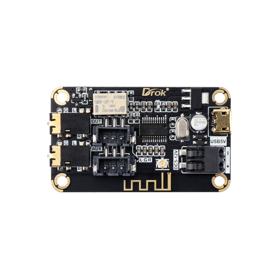 Portable Bluetooth Receive Module Audio Stereo Receiver Board AS1711BT DC 5-35V Wireless Electronics Bluetooth Module Chip