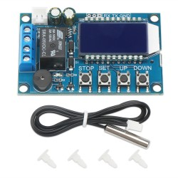 Digital Temperature Controller DC6.0~30V  Adjustable Temperature with Heating and Cooling Mode Tester