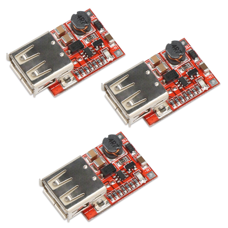Boost Converter Module 3pcs Usb Dc Step Up 3v To 5v 1a Convert Stepupconvertercircuitjpg Voltage Regulator