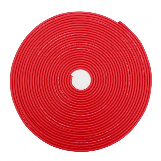 Flame Retardant Power Cable Black and Red 8A 30ft Test Soft Wire Double Silicone Insulating Layer Wire Electric Cable