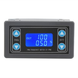 Digital Meter DC 3.3~30V Signal Generator PWM Pulse Frequency Duty Ratio 1HZ~150KHZ Adjustable Square Wave Rectangular Generator