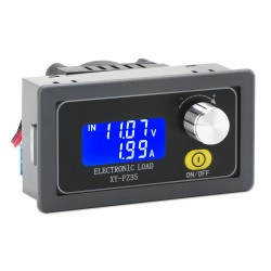 Electronic Load Tester DC5.0~30.0V to 1.5-25.0V 5A 35W Adjustable Load Battery Discharge Capacity Tester with Cooling Fan