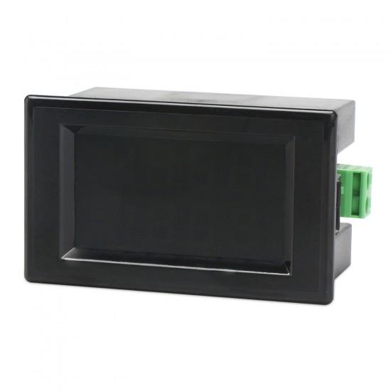 Digital Meter DC 0~199.9V/0~50A LCD Display Voltage Current Meter DC 12V 24V Voltmeter Ammeter with 50A Shunt