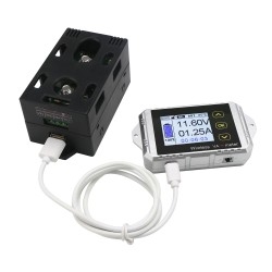 Digital Voltage Amp Panel Meter Multi-meter Wireless DC 0-100V 0-100A Tester Battery Charge Discharge Monitor