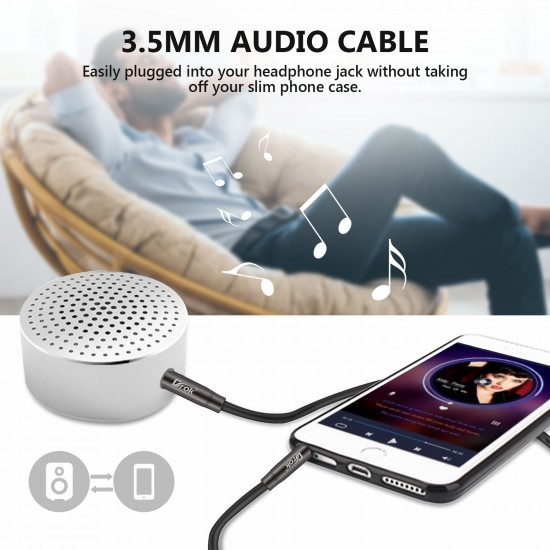 5pcs 3.5mm Stereo Male to Male Audio AUX 1M Cable Extension Cable Cord for Car Computer Laptop MP3/MP4 Player Phone