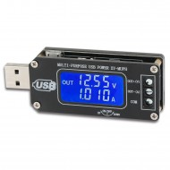 USB Voltage Regulator DC3.5V-12V to 1.0-24V 3A Volt Current Power Capacity Time Temperature Buck Boost Converter