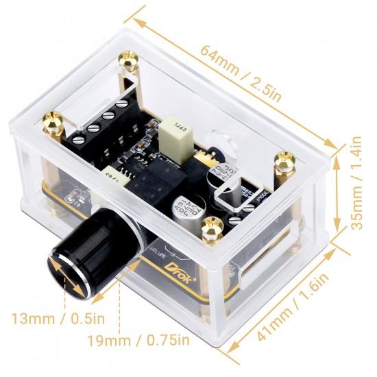 Digital Audio Amplifier Board 5W+5W Amplifier Circuit PAM8406 Module DC 5V Dual Channel Class D Stereo Power Amp Module