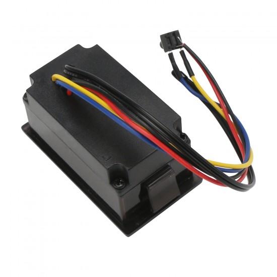 Digital Battery Volt Meter DC 24V 36V 48V Lead-acid Battery Capacity Monitor with LED Color Display Voltage Battery Indicator for Electric Vehicle