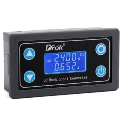 Adjustable DC Buck Boost Converter DC 5V-30V to 0.5V-30V Module CC CV LCD Power Supply Voltage Regulator