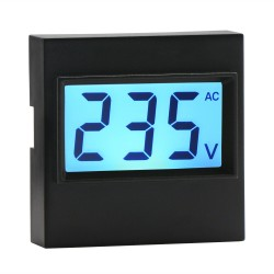 AC Digital Voltmeter 80V-500V Voltage Measuring Monitor Meter LCD Display Voltage Reader Detector