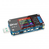 Digital USB Buck Boost Voltage Regulator DC 3.5V-15V to 0.6V-30V 2A 15W Power Supply Module