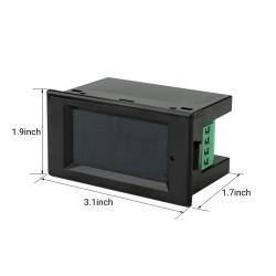 Digital Voltage Current Meter DC 7-20V 0-20A Volt Amp Power Energy Monitor Meter Voltmeter Ammeter Multimeter