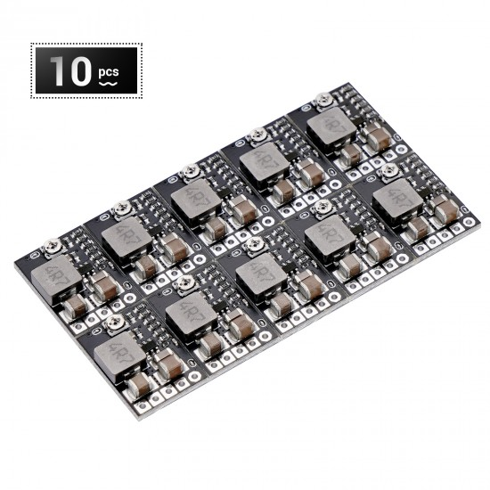 10pcs Mini Voltage Buck Regulator Board DC 12V to 5V Step Down Converter Reducer 2A Fixed Adjustable Volt Output Transformer