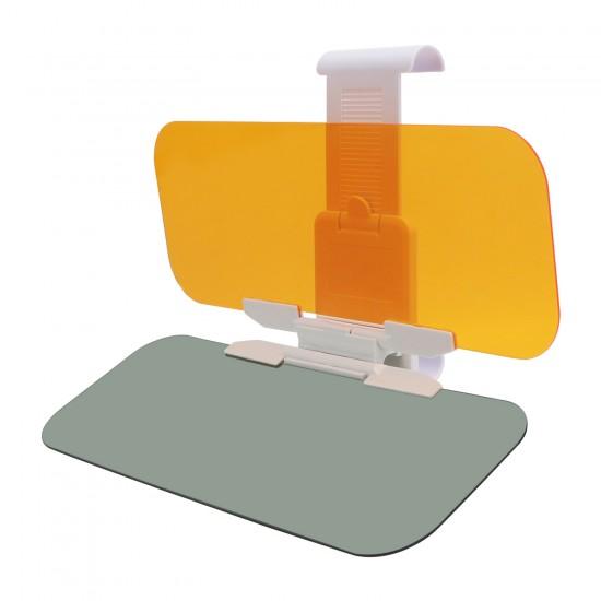 Car Sun Visor Auto Anti-Glare Day and Night Driving Car Visor Extender with Car Visor Clip for Car Windshield