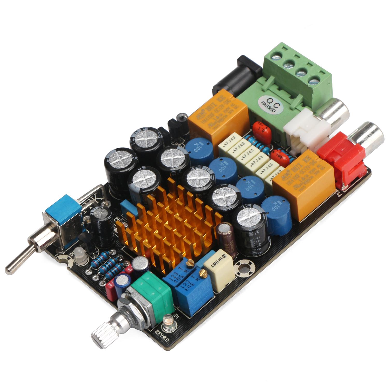 Drok 12v Digital Amplifier 2ch Audio Stereo Power Amp Board Dc 11